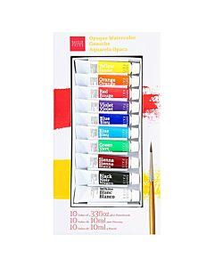 Savoir Faire Gouache Set of 10 Colors 10ml