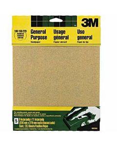 3M Sandpaper 5 Pack