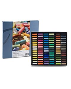 Rembrandt Soft Pastel Set of 90 Half Sticks - Assorted Colors