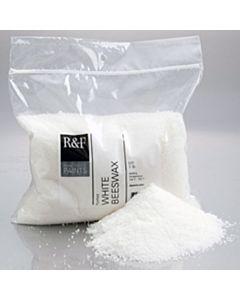 R&F Encaustic Handmade Paint - White Beeswax (Pellets) 1lb Bag