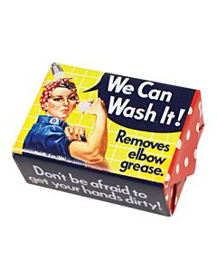 Rosie the Riveter Soap