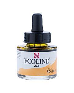 Talens Ecoline Liquid Watercolor 30ml Pipette Jar - Gold Ochre