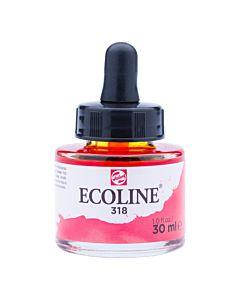 Talens Ecoline Liquid Watercolor 30ml Pipette Jar - Carmine