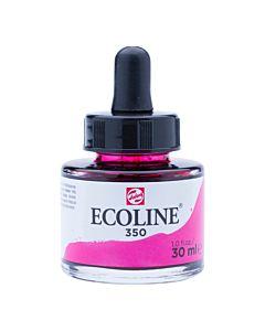 Talens Ecoline Liquid Watercolor 30ml Pipette Jar - Fuchsia