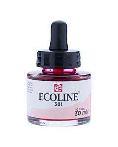 Talens Ecoline Liquid Watercolor 30ml Pipette Jar - Pastel Red