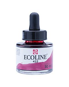 Talens Ecoline Liquid Watercolor 30ml Pipette Jar - Reddish Brown