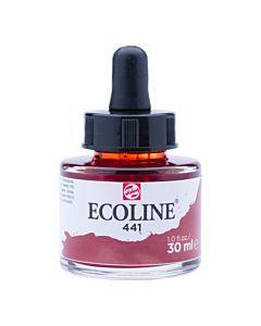 Talens Ecoline Liquid Watercolor 30ml Pipette Jar - Mahogany