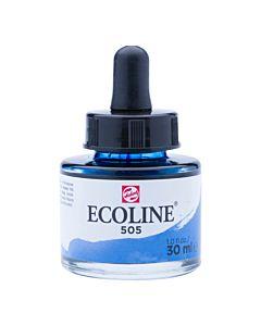 Talens Ecoline Liquid Watercolor 30ml Pipette Jar - Ultrammarine Light