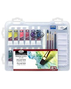 Royal & Langnickel Essentials Clearview Case Watercolor