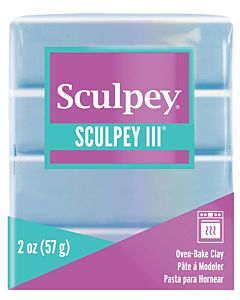 Sculpey 2oz Light Blue Pearl