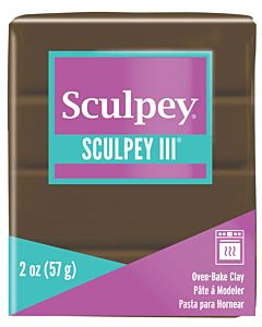 Sculpey 2oz Suede Brown