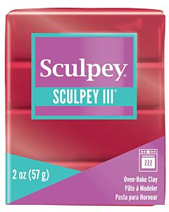Sculpey 2oz Deep Red Pearl