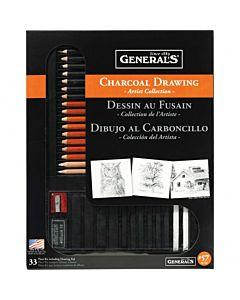 General Pencil Charcoal Drawing Set #57