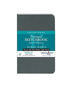 Stillman & Birn Epsilon Series Sketchbook - Softcover - 5.5x8.5