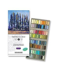 Sennelier Soft Pastel Plein Air Set 80 -1/2 Sticks