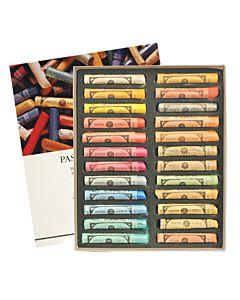 Sennelier Soft Pastels Cardboard Box Set of 24 Standard - Iridescent Colors