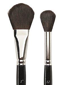 Silver Brush  Series 5618 Black Goat Hair - Round - Size 16