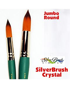 Silver Brush Crystal Series 6825 Synthetic - Jumbo Round - Size Xtra Large