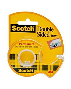 "Scotch #136 Double Sided Tape 1/2""x250"""
