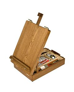 Soho Table Easel and Sketch Box Oiled Beechwood