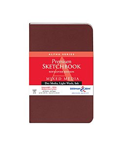 Stillman & Birn Alpha Series Sketchbook - Soft Cover - 3.5x5.5