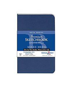 Stillman & Birn Beta Series Sketchbook - Soft Cover - 5.5x8.5
