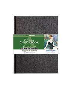 Stillman & Birn Delta Series Sketchbook - Hard Bound - 8.25x11.75