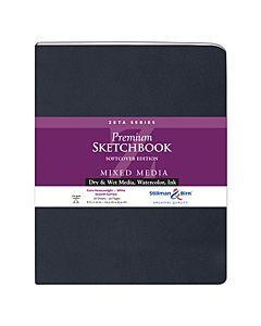 Stillman & Birn Zeta Series Sketchbook - Soft Cover - 8x10