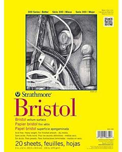 Strathmore 300 Series Bristol Vellum 9x12