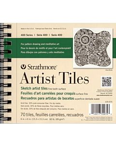 Strathmore 400 Series Art Tiles Sketch Pad - 6x6