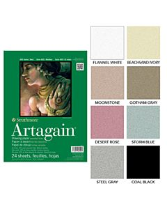 Strathmore 400 Series Artagain - Coal Black - 19x25 Sheet
