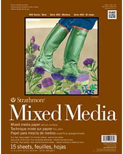 Strathmore 400 Series Mixed Media Pad - 6x8