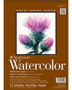 Strathmore 400 Series Watercolor Pad - 12x12