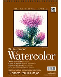 "Strathmore 400 Watercolor Pad - 5.5x8.5"""
