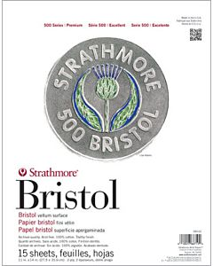 Strathmore 500 Series Bristol - 4ply - Vellum Surface - 23x29 Sheet