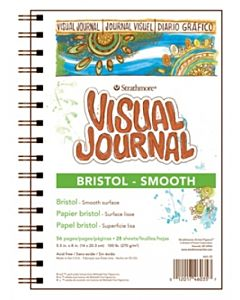 Strathmore 400 Series Bristol (Smooth) Visual Journal - 5.5x8""