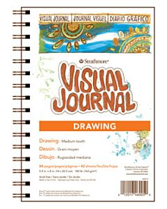 Strathmore 400 Series Drawing Visual Journal - 5.5x8""