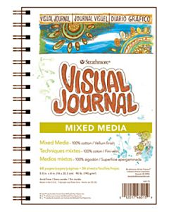 Strathmore 400 Series Mixed-Media Visual Journal - 5.5x8""