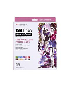 Tombow ABT Pro Markers - 12 Set Fashion Colors