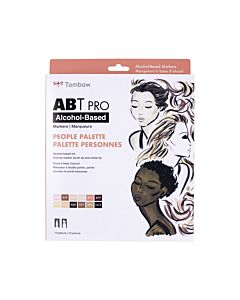 Tombow ABT Pro Markers - 12 Set People Palette