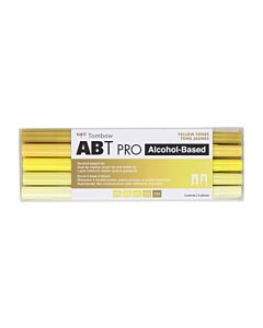 Tombow ABT Pro Markers - 5 Set Yellow Tones