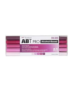 Tombow ABT Pro Markers - 5 Set Pink Tones