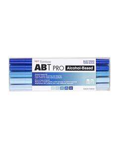Tombow ABT Pro Markers - 5 Set Blue Tones
