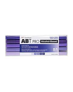 Tombow ABT Pro Markers - 5 Set Purple Tones