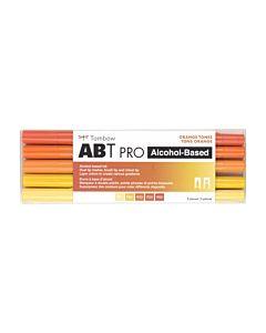 Tombow ABT Pro Markers - 5 Set Orange Tones