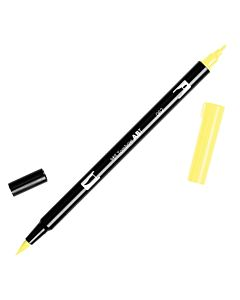 Tombow Dual Brush Pen No. 62 - Pale Yellow