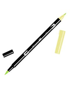 Tombow Dual Brush Pen No. 131 - Lemon Lime