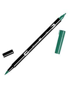 Tombow Dual Brush Pen No. 249 - Hunter Green