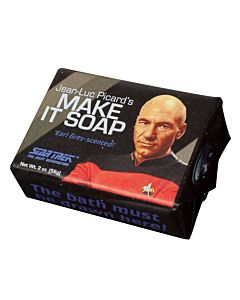 Jean-Luc Picard's Make it Soap