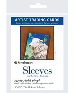 Strathmore Artist Trading Card Sleeves 1 Pack (5 Sleeves)
